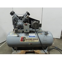 Gardner Denver CASRSA28 2 Stage Air Compressor 120 Gal Horizontal 10Hp 34.8 CFM