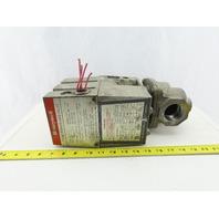 """Honeywell V4055D 1035 Fluid Power Gas Valve 120V G-LP 1-1/2"""" NPT"""