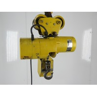 Budgit 310980-1 1 Ton 2000 Lbs. 14' Lift 16FPM 230/460V 1Hp Electric Chain Hoist