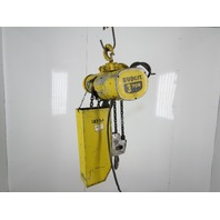 Budgit 1-356-2R 3 Ton 6000 Lbs. Electric Chain Hoist 19' Lift 230/460V 3Ph 10FPM