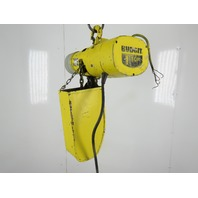 Budgit 1 Ton 2000 Lbs. Electric Chain Hoist 10' Lift 1Hp 230/460V 3Ph 16FPM