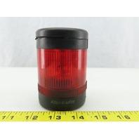 Allen Bradley 855T-BSB 855T-B24DN4 SER B, Red Stack Light 24 VOLT With Base