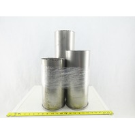 """6"""" Stainless Steel Ducting Bag House Ductwork 19"""" 14"""" 12"""" Misc. Lot of 3"""