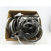 """Nordfab 6"""" Stainless Steel Quick Ducting Clamps Lot Of 30"""