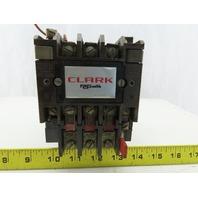 Clark AO Smith T13U031 Size 1 Motor Starter 27A 120V Coil