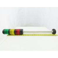 Allen Bradley 855T-B24DN4-345 Steady Incandescent Light Stack Red Yellow Green