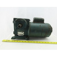 Reliance 50:1 Ratio 115V 1Ph 60Hz 1/3Hp Left Hand Output Gear Motor