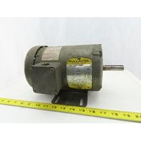Baldor M3542 .75 3/4Hp 1725RPM 3Ph 208-230/460V 56C Frame TEFC Electric AC Motor