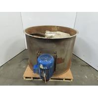 "Dayton 3C416A 48"" Tube Axial Exhaust Vent Booth Fan 7.5Hp 1765RPM 230/460V 3Ph"