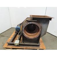 """American Fan Company BI-122 1-1/2 Blower Fan 13"""" Backward Incline 230/460V 3Ph"""