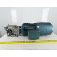 Sew DFV132M4THEV1R 5.2:1 Ratio 10Hp 230/460V 336 RPM Lefthand Output Gearmotor