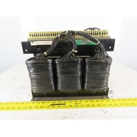 Ajax 3T88389 230/460V Delta 11kVa 3Ph 60Hz Multiple Secondary Volts Transformer