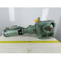 Sew Eurodrive S82R2LP145 1Hp 180VDC Gear Motor W/Brake 273:1 Ratio