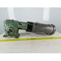 Perfection Gear MTL12683S 2Hp 180VDC Gear Motor 25:1 Ratio W/ERS49/180 Brake