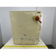 "SCE AY975553 36"" x 30"" x 8"" Type 12 Electrical Enclosure With Extras See Info"