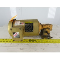 Hub City 0220-60096 1/2Hp Gear Motor 5:1 Ratio W/ Baldor VEM358 230/460V