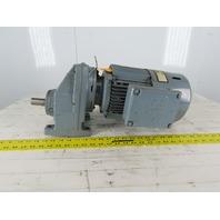 SEW-EURODRIVE RX67DT90S2BM62HF 2.14Hp Gear Motor 159.82RPM Output 23/460V 3Ph