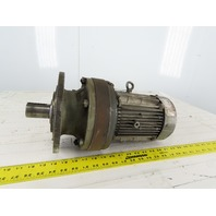 Sumitmo In Line Gear Box Speed Reducer 50:1 Ratio 34.8rpm 208-230/460V