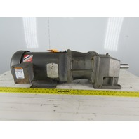 Baldor CK3613 7.5Hp Motor W/5:1 Ratio Gear Box 208-230/460V