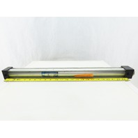 """Chicago Controls Pneumatic Air Cylinder 1-1/2"""" Bore 22"""" Stroke 5/8"""" Rod"""
