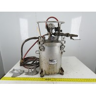 Armour 5 Gallon Pressure Pot W/Agitator Hose & Spray Gun 80psi Max