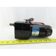 Leeson M1115001.00 985-621 Permanent Magnet Inline Gear Motor 90VDC 1/20Hp 10RPM