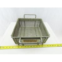 """Rectangular Expanded Metal Parts Washer Dip Basket 10-3/8""""x10-5/8""""x 4-1/4"""""""