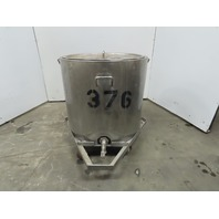 Stainless Tank 110 Gallon Heated Water Jacketed Tank W/Heater & Lid 120V 30A