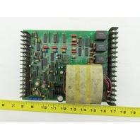 Spang E72354802 REV. B 83334 Circuit Control Board PCB