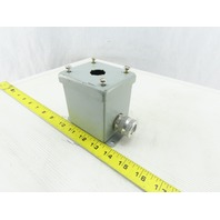 "Hoffman E1PBGXM Pushbutton Enclosure Box 3"" x 2-1/2"" x 3-1/4"""