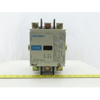 Mitsubishi S-N400 690V 250kW 400 Cont. Amps Magnetic Contactor 120V Coil 3 Pole