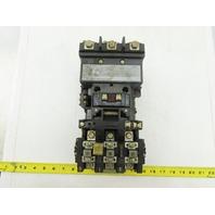 Allen Bradley 509-DOD Ser S Size 3 Starter 460-575V 50HP 230V 30 HP 200V 25 HP