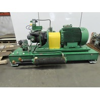 100Hp 95 Gal Hydraulic Power Unit W/Sundstrand Ser 24 Pump 208Y-230/460V 3Ph