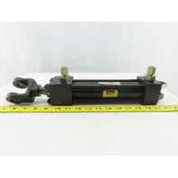 """Parker C2HLTV24 1-1/2"""" Bore 6"""" Stroke Pivot Double Acting Hydraulic Cylinder"""
