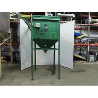 """Conair Carbon Steel Material Hopper Surge Bin Gravity Hopper 49""""x43""""x38"""""""