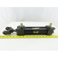 """Parker Series 2H 1-1/2"""" Bore 6"""" Stroke Pivot Double Acting Hydraulic Cylinder"""