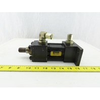 """Parker 1-1/2"""" Bore 4"""" Stroke Double Acting Hydraulic Cylinder 3000 PSI"""