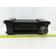"""Parker CD2HLU18C 3-1/4"""" Bore 6"""" Stroke Trunnion Double Acting Hydraulic Cylinder"""