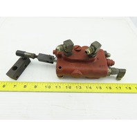 Single Spool Hydraulic Control Manual Valve From a Crown RC3020-30 Forklift