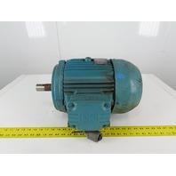 WEG 00718EP3E213T-F2 7.5Hp 1765RPM 3Ph 208-230/460V 213T Severe Duty Motor