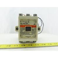 Fuji SC-N5 600V 3Ph 75Hp 150 Cont Amps 3 Pole Magnetic Contactor 120V Coil