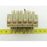 Fuji CP31FM CP31FS 10A 7A 1A 3A 250V 1 Pole Circuit Breaker Mixed Lot Of 6