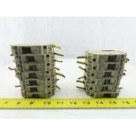 Telemecanique GB2-CB 415V 1P Mix Lot Circuit Breaker 2A 3A 8A 10A 12A Lot Of 13