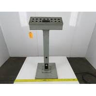 "Hoffman  6""x20""x6"" Operator Console Electrical Enclosure W/Pedestal"