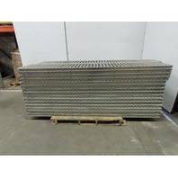 "Span-Track Shelf-less Carton Flow Gravity Racking Conveyor 15"" x 86"" Lot of 30"