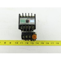 Mitsubishi S-A12RM 600V 3.7kW Magnetic Contactor 0.9-1.5A Overload