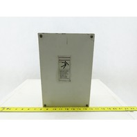 "12""x8""x4"" Electrical Box Enclosure With 9 total 7/8"" holes"