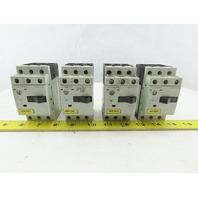 Siemens 3RV1011-1JA10 3Hp 600V 7-10A Manual Motor Starter Breaker Lot Of 4