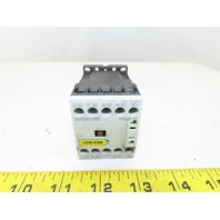 Siemens 3RH1131-1HB40 600V 10A 3Ph Contactor Relay Auxiliary 3NO+1NC 17-24VDC