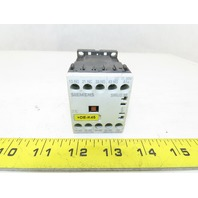 Siemens 3RH1131-1KB40 600V 10A 3Ph Contactor Relay Auxiliary 3NO+1NC 17-24VDC